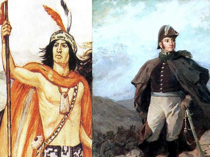 Cruce de los Andes Lautaro y San Martín