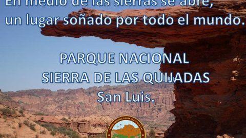 Parque Nacional Sierra de las Quijadas, San Luis, Argentina