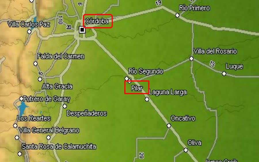 Pilar Rio Segundo Cordoba Conglomerado De Esperanza Y