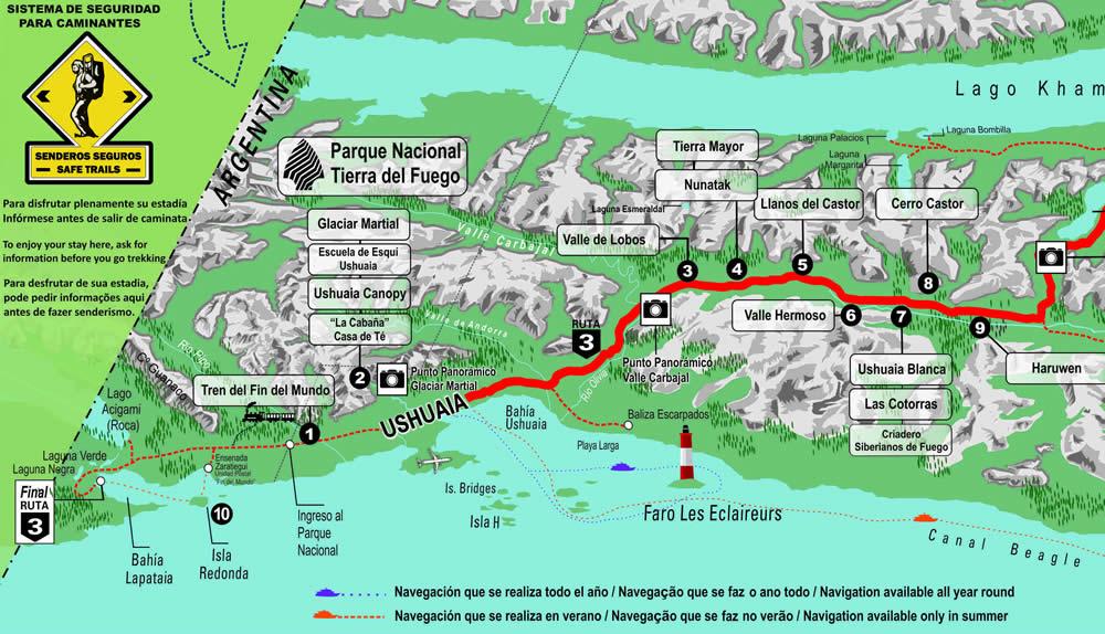 Parque Nacional Tierra Del Fuego El Fin Del Mundo El Principio De